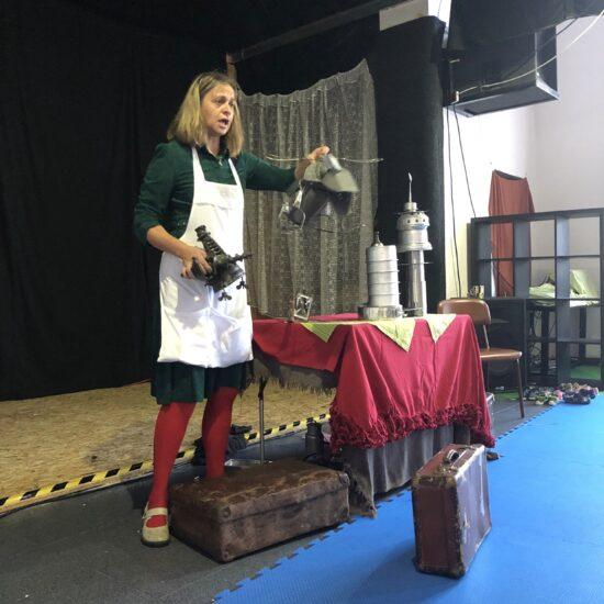 Plechové pohádky – divadlo Kordula ve školce